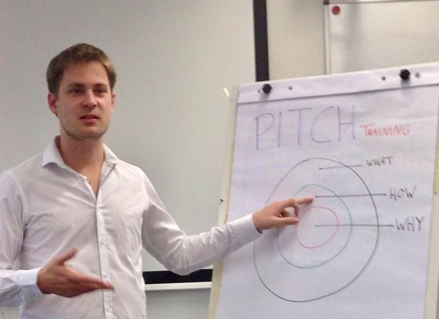 Presentatietraining Golden Circle